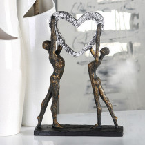 "Casablanca Skulptur ""Victory"" Poly, bronze finish"