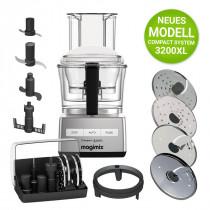 Magimix Compact System 3200 XL chrom matt Küchenmaschine NEU