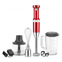 KitchenAid Stabmixer-Set Empire Rot 5KHBV83EER