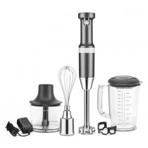 KitchenAid Stabmixer-Set 5KHBV83EDG Charcoal Grey