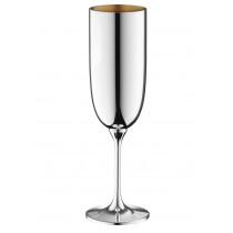 Robbe & Berking Dante Champagnerkelch 90g versilbert, innen vergoldet