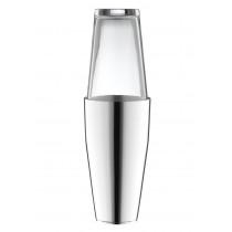 Robbe & Berking Dante Cocktailshaker 90g versilbert mit Glas, 06201507, 4044395245956