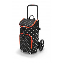 reisenthel® citycruiser rack + bag 45l mixed dots
