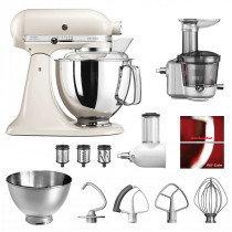 KitchenAid Küchenmaschine 175PS Entsafter Vital-Set baiser