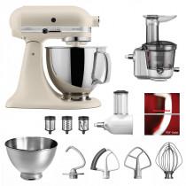 KitchenAid Küchenmaschine Artisan 175PS Entsafter Vital-Setfrsh linen