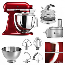 KitchenAid Artisan Küchenmaschine 5KSM175 Foodprocessor Set