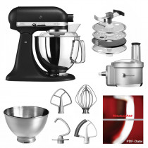 KitchenAid Küchenmaschine 175PS Foodprocessor Set Gusseisen