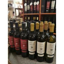 Tbilvino Georgien Weißwein und Rotwein 18er Sparset 0,75l