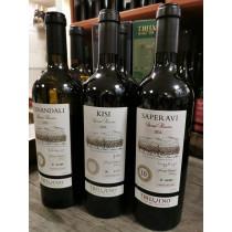 Tbilvino Special Reserve Georgien, trockener Weißwein und Rotwein im 6 er SparSet limitierte Abfüllung
