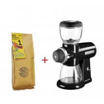 KitchenAid Artisan Kaffeemühle Onyxschwarz m. Suhl BIO-Kaffee