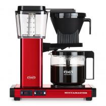 Moccamaster Kaffeemaschine Rot Metallic