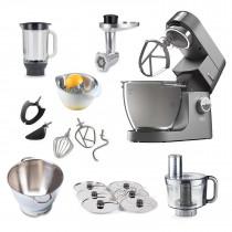 Kenwood Küchenmaschine Chef  XL Titanium 6,7l KVL8320S Megapaket
