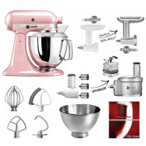 KitchenAid Küchenmaschine 175PS seidenpink/rosa