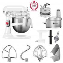 KitchenAid Artisan Küchenmaschine 6,9l PROFESSIONAL 5KSM7990XEWH SET1