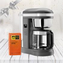 KitchenAid Kaffeemaschine 1,7 DRIP Charcoal 5KCM1209EDG im Geschenk-Set