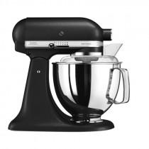 KitchenAid Artisan Küchenmaschine 4,8l Aktionspaket 5 Gusseisen schwarz