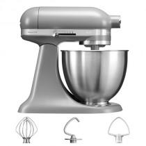 KitchenAid Küchenmaschine 3,3-L-Mini mattes grau