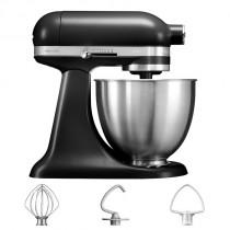 KitchenAid Küchenmaschine 3,3-L-Mini mattschwarz