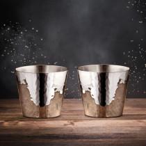 Robbe & Berking Martelé Rum- und Destillatebecher 90g versilbert 2er Set (06301582)