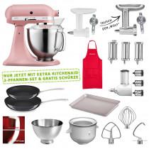 KitchenAid 5KSM185PSEDR Set #wir bleiben zuhause rose / altrosa