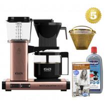 Moccamaster Kaffeemaschine KBG Select Kupfer Aktionspaket