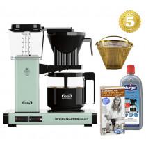 Moccamaster Kaffeemaschine KBG Select Pastellgrün Aktionspaket