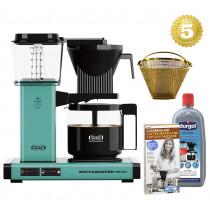 Moccamaster Kaffeemaschine KBG Select Türkis Aktionspaket