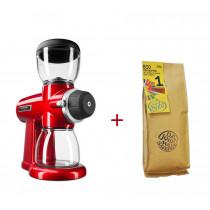 KitchenAid Artisan Kaffeemühle Empirerot inkl. Suhl Bio-Kaffee