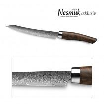 NESMUK Exklusiv C90 Slicer Walnuss - Detail Klinge & Zwinge