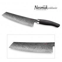 NESMUK Exklusiv C90 Kochmesser 180 mm Klinge mit Griff aus Mooreiche