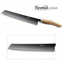 NESMUK JANUS Brotmesser 270 Olive