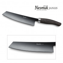 NESMUK JANUS Kochmesser mit 180-mm Klinge Griff aus Mooreiche