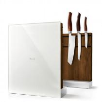 Nesmuk Messerhalter Messerlock magnetisch Eiche geräuchert weiß, MHEG1W, 4260263704060
