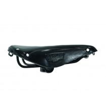 Brooks-Sattel aus Leder für das NOHrD Bike