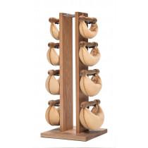 NOHrD Swing Turm Eiche mit hellem Leder -Sondermodell- 13.235, 13.215