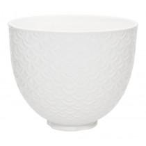 KitchenAid Keramikschüssel 4,7l weiß ohne Griff 5KSM2CB5TWM