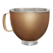 KitchenAid Edelstahlschüssel 4,8l Gold für KitchenAid Artisan 5KSM5SSBVG