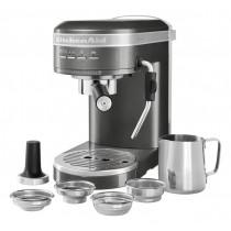 "KitchenAid Espressomaschine ""ARTISAN"" medallion silber"