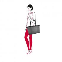 reisenthel® Carrybag Einkaufskorb 22l BK7052 frame twist silver