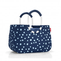 Reisenthel loopshopper M spots navy OS4044