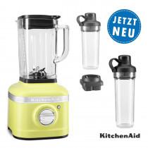 KitchenAid ARTISAN K400 Standmixer 5KSB4026EKG mit Mitnahmebehälter & Behälter mit Klingen