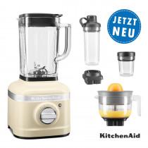 KitchenAid ARTISAN K400 Standmixer 5KSB4026EAC Creme Sparpaket