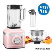 KitchenAid ARTISAN K400 Standmixer 5KSB4026ESP mit To-Go 500ml
