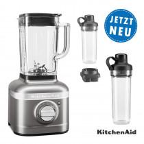 KitchenAid ARTISAN K400 Standmixer 5KSB4026EMS Medallion Silber Sparpaket 2