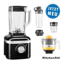 KitchenAid ARTISAN K400 Standmixer 5KSB4026EOB onyxschwarz Sparpaket