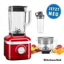 KitchenAid ARTISAN K400 Standmixer mit Zitruspresse und To-Go-Behälter