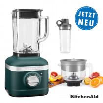 KitchenAid ARTISAN K400 Standmixer 5KSB4026EPP Palmenstrand im Set