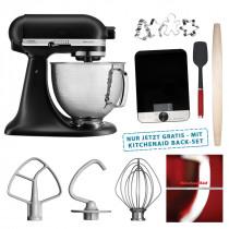 KitchenAid Artisan Küchenmaschine 5KSM156HMEBM mit Backset