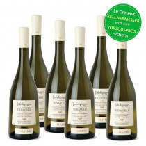 6er Set Tbilvino Tsinandali Georgien, trockener Weißwein 0,75l