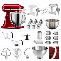 KitchenAid Küchenmaschine 185PS Mega-Paket alle Farben mit Sonderzubehör
